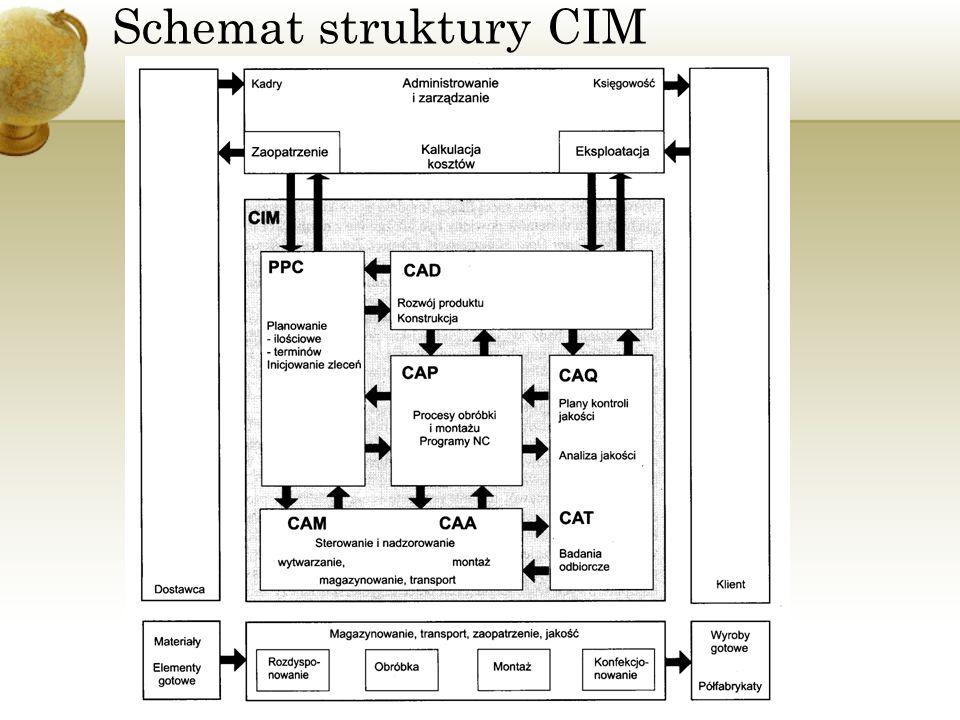Schemat struktury CIM