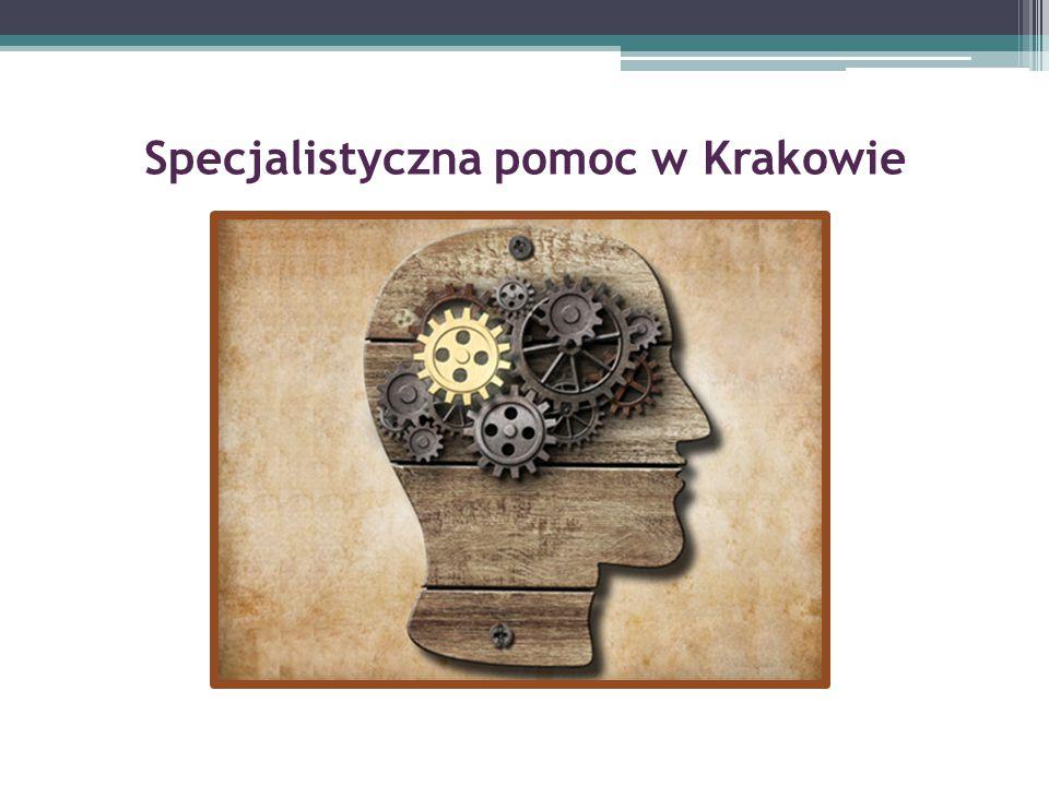Specjalistyczna pomoc w Krakowie