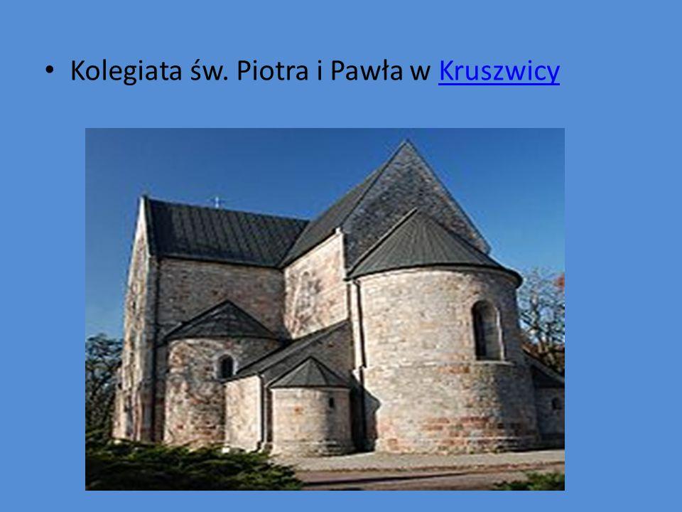 Kolegiata św. Piotra i Pawła w KruszwicyKruszwicy