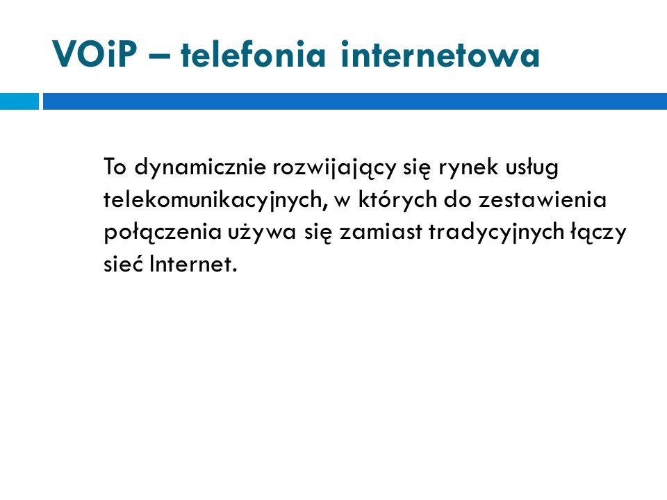 FTP - transmisja plików Usługa ta pozwala przesyłać (kopiować, przenosić) pliki z jednego komputera do drugiego (najczęściej z serwera na domową jednostkę lub odwrotnie).