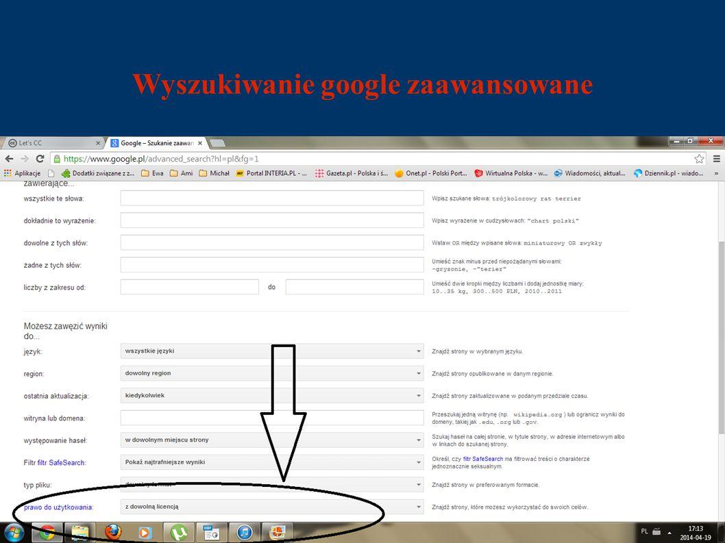 Wyszukiwanie google zaawansowane