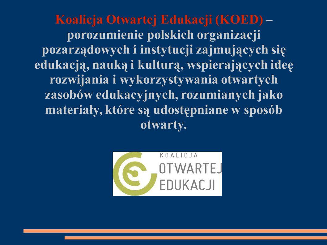 Koalicja Otwartej Edukacji (KOED) – porozumienie polskich organizacji pozarządowych i instytucji zajmujących się edukacją, nauką i kulturą, wspierających ideę rozwijania i wykorzystywania otwartych zasobów edukacyjnych, rozumianych jako materiały, które są udostępniane w sposób otwarty.