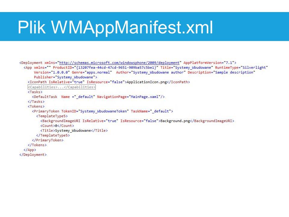 Plik WMAppManifest.xml