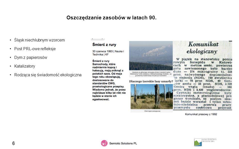 37 Grupa dyskursów, które budują przekonanie, że za zanieczyszczone powietrze w Polsce odpowiada tylko przemysł, a szczególnie ten ciężki.