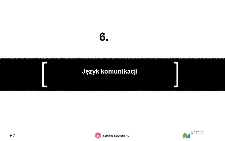 67 Język komunikacji 6.