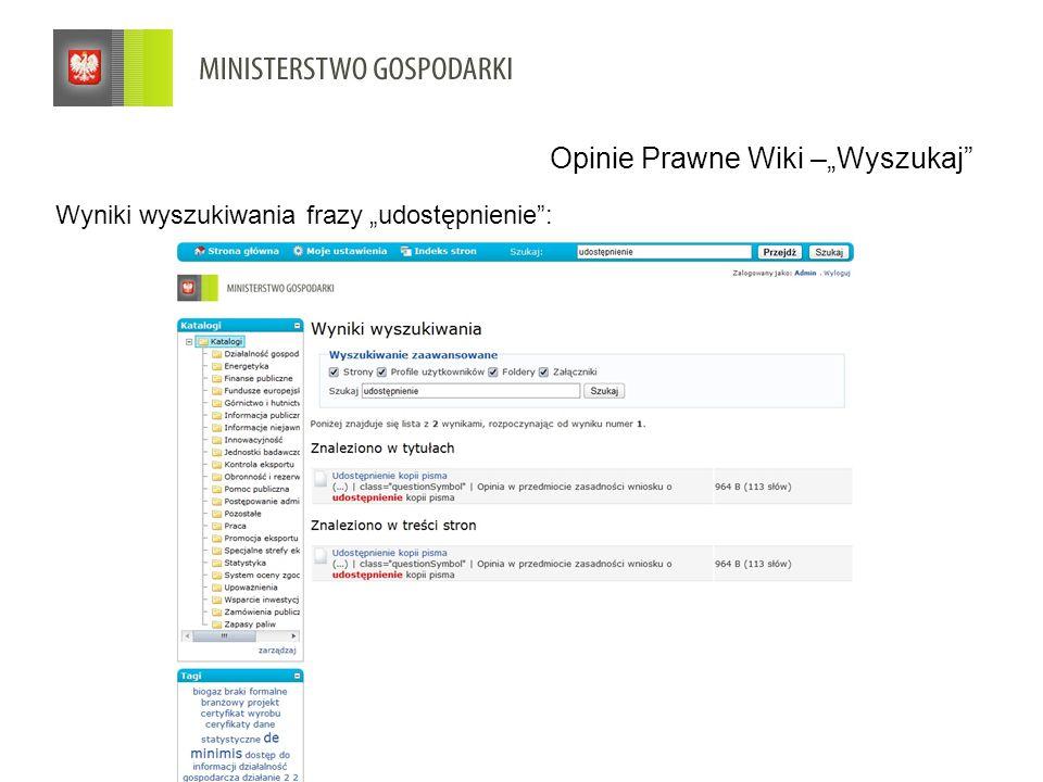 """Wyniki wyszukiwania frazy """"udostępnienie : Opinie Prawne Wiki –""""Wyszukaj"""