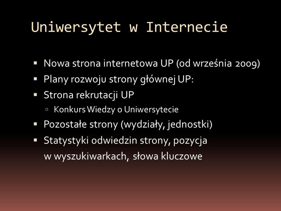 Strona UP działająca od 09.2009