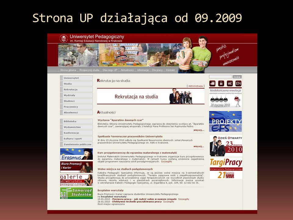 Rekrutacja 2009 – studia stacjonarne Przyjęto na studia o 24,1 % więcej 2008 r.