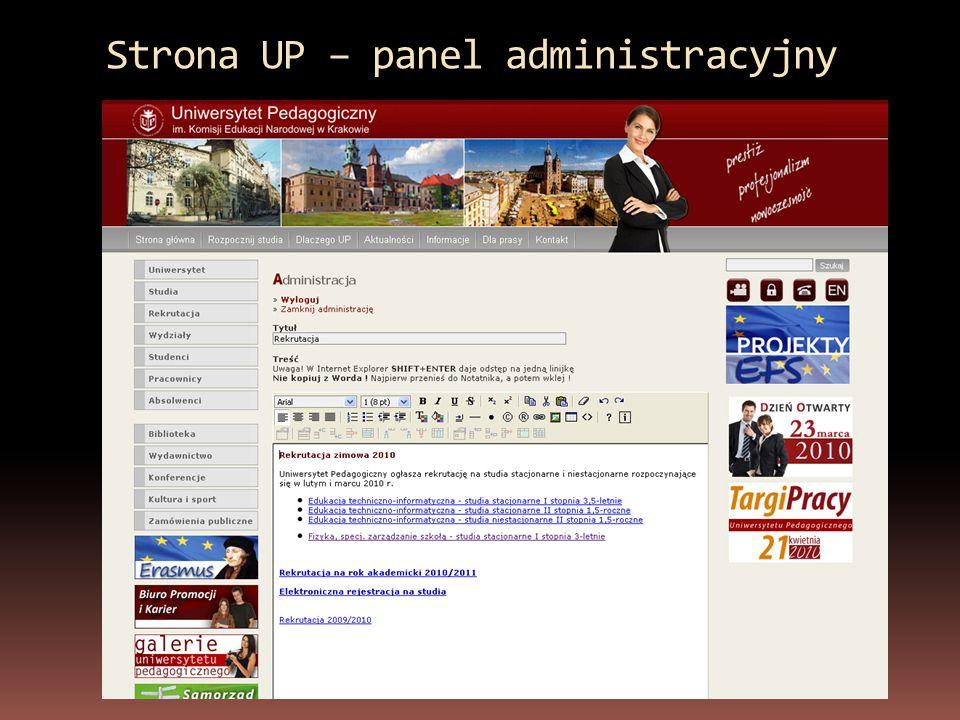 Nowa strona internetowa Biura Karier działa od 14 maja 2009