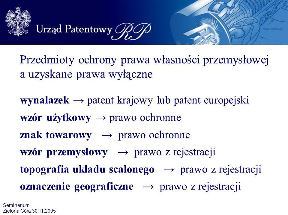 Innowacyjność w przełożeniu na ilość zgłoszeń wynalazków i wzorów użytkowych dokonanych do Urzędu Patentowego w latach 2000 – 2004 Zgłoszenia w trybie krajowym dokonane przez podmioty krajowe i zagraniczne.