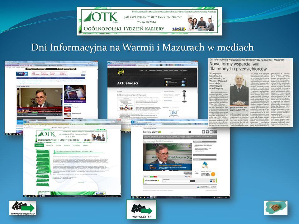 Dni Informacyjna na Warmii i Mazurach w mediach