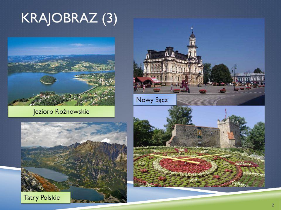 KRAJOBRAZ (3) 2 Jezioro Rożnowskie Tatry Polskie Nowy Sącz
