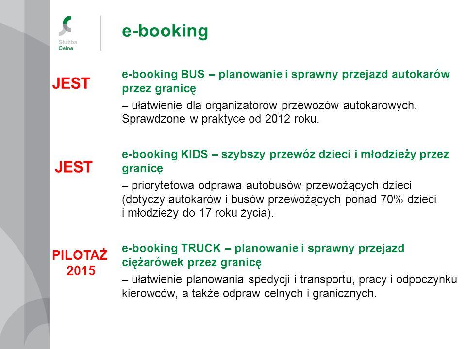 e-booking e-booking BUS – planowanie i sprawny przejazd autokarów przez granicę – ułatwienie dla organizatorów przewozów autokarowych.