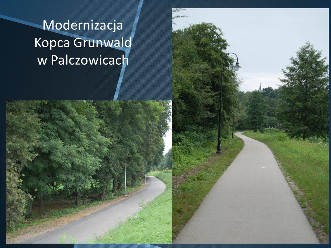 Modernizacja Kopca Grunwald w Palczowicach