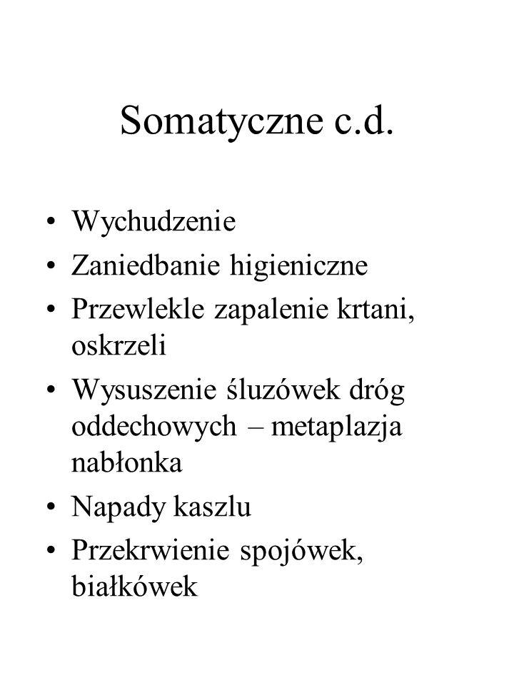 Somatyczne c.d.