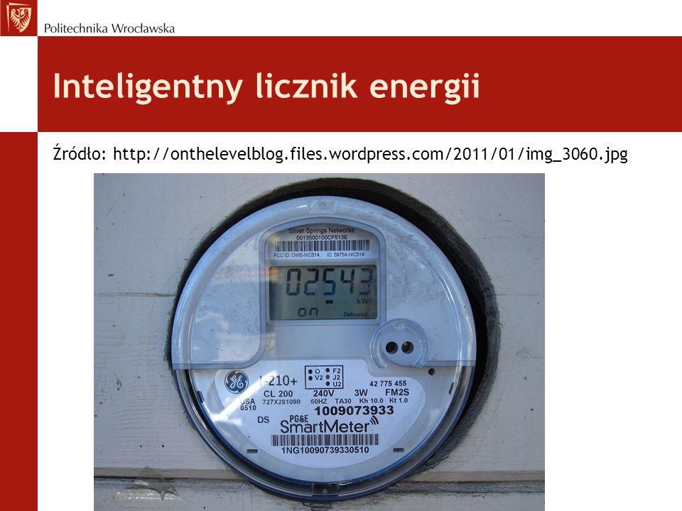 Inteligentny licznik energii Źródło: http://onthelevelblog.files.wordpress.com/2011/01/img_3060.jpg