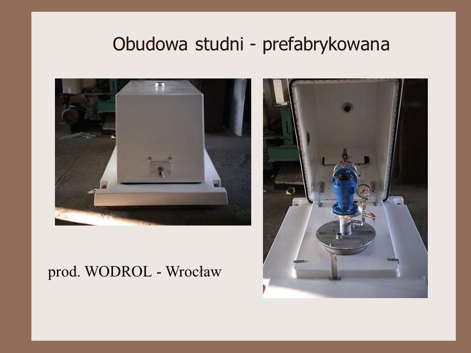 Obudowa studni - prefabrykowana prod. WODROL - Wrocław