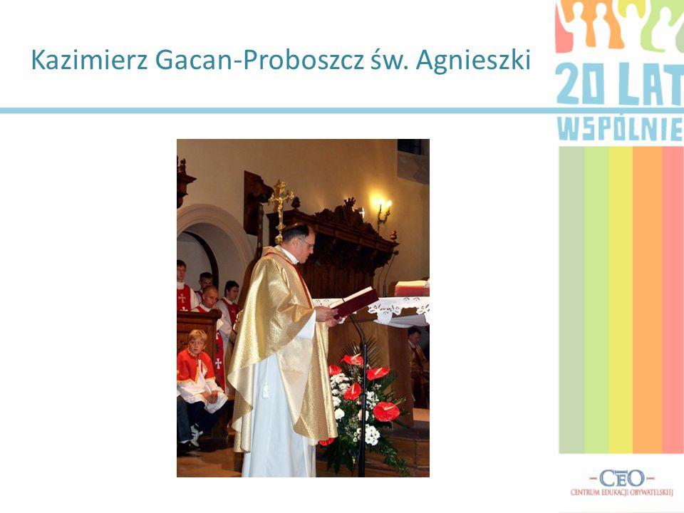 Kazimierz Gacan-Proboszcz św. Agnieszki