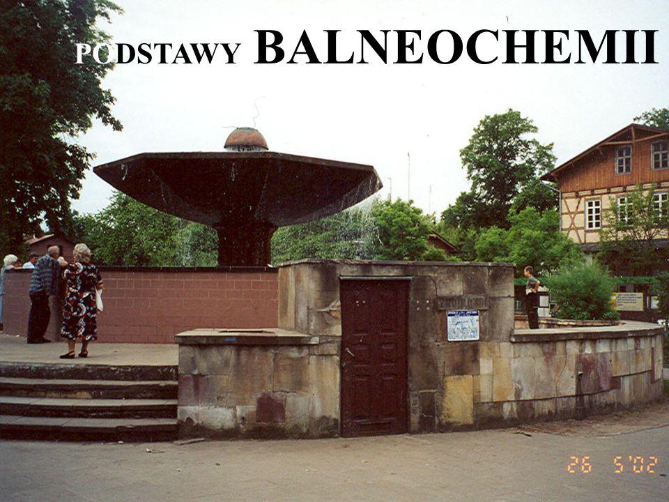 PODSTAWY BALNEOCHEMII