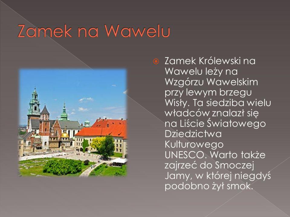 Zamek Królewski na Wawelu leży na Wzgórzu Wawelskim przy lewym brzegu Wisły. Ta siedziba wielu władców znalazł się na Liście Światowego Dziedzictwa