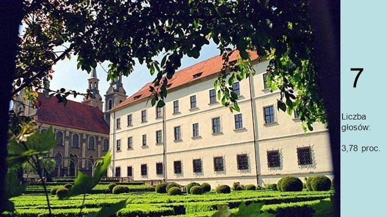 Miejsce 7. Zamek Piastów Śląskich, Brzeg Zamek Piastów Śląskich w Brzegu zbudowano w XIII wieku, a trzysta lat później nadano mu renesansowy charakter