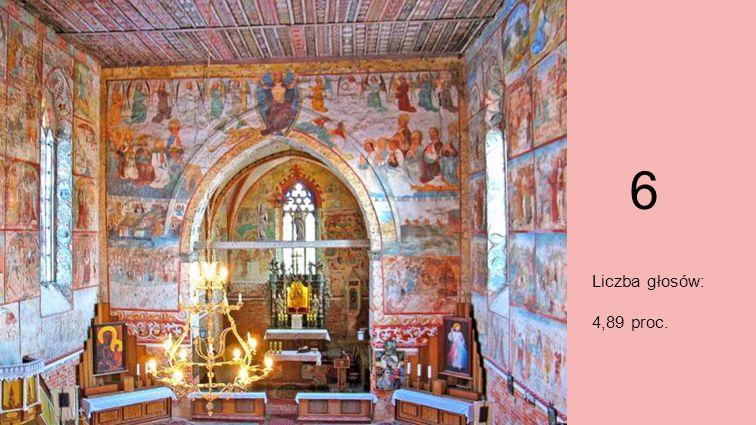 Miejsce 6. XIV-wieczne polichromie, Małujowice Małujowice to obowiązkowy punkt podczas zwiedzania Opolszczyzny. Największą atrakcję stanowi gotycki ko
