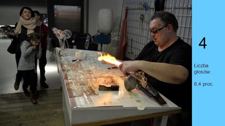 Miejsce 4. Centrum Dziedzictwa Szkła, Krosno W Centrum Dziedzictwa Szkła w Krośnie nawet najdziwniejsze pomysły zamieniają się w szklane (i całkiem re