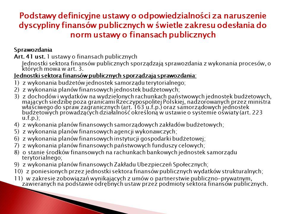 Sprawozdania Art.41 ust.