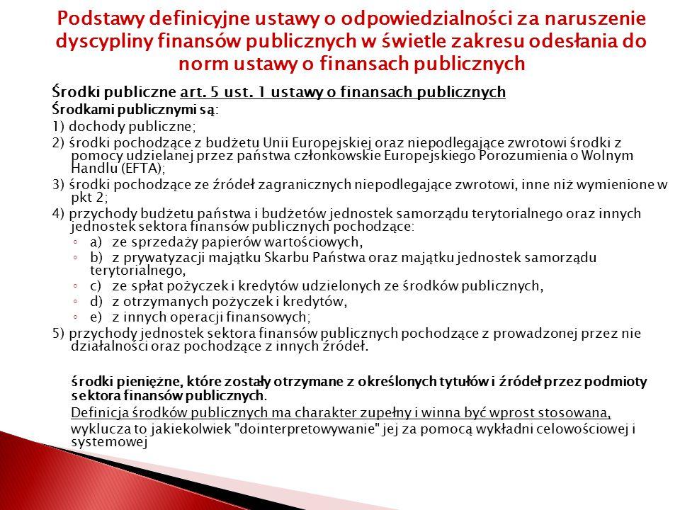 Środki publiczne art.5 ust.