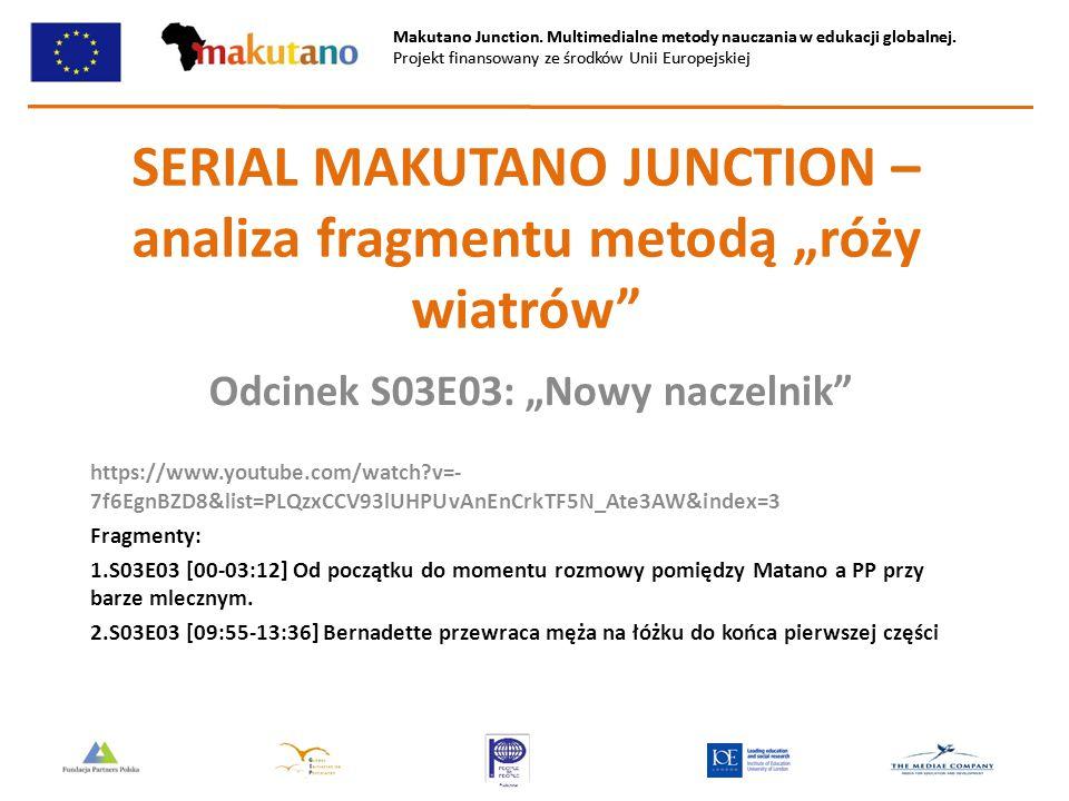 Makutano Junction. Multimedialne metody nauczania w edukacji globalnej. Projekt finansowany ze środków Unii Europejskiej Makutano Junction. Multimedia
