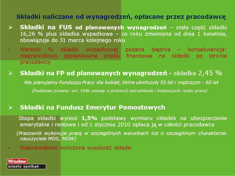 Zgodnie z §5 pkt.5,6 Uchwały Nr IV/16/10 Rady Miejskiej Wrocławia z dnia 27 grudnia 2010 r.