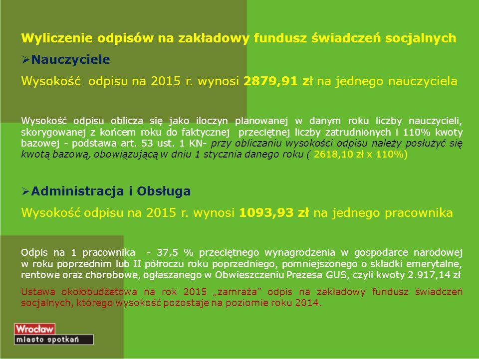 """Wyliczanie składek na PFRON Podstawą jest przeciętne miesięczne wynagrodzenie w gospodarce narodowej w poprzednim kwartale od pierwszego dnia następnego miesiąca po ogłoszeniu przez Prezesa GUS w Dzienniku Urzędowym RP """"Monitor Polski (stawka zmienia się w ciągu roku)  Wysokość wpłat stanowi iloczyn 40,65% kwoty przeciętnego wynagrodzenia i liczby etatów osób niepełnosprawnych brakujących do osiągnięcia wymaganego wskaźnika  Wskaźnik zatrudnienia osób niepełnosprawnych dla szkół i placówek oświatowych - 2%, dla poradni psychologiczno pedagogicznych i placówek wychowania pozaszkolnego - 6%."""