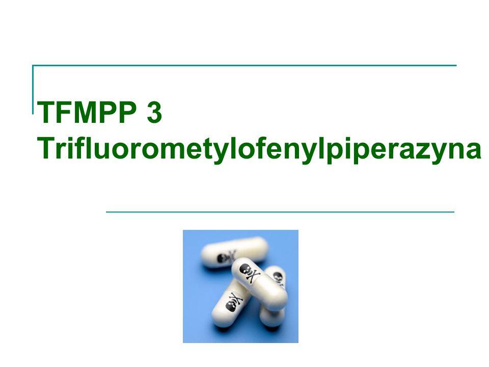 TFMPP 3 Trifluorometylofenylpiperazyna