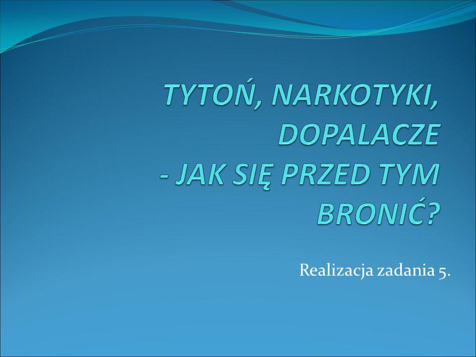HARMONOGRAM REALIZACJI ZADANIA NR 5 L.p.