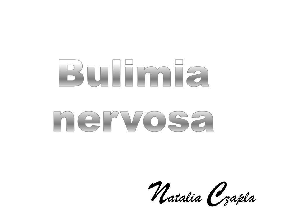 Bulimia jest zaburzeniem odżywiania.