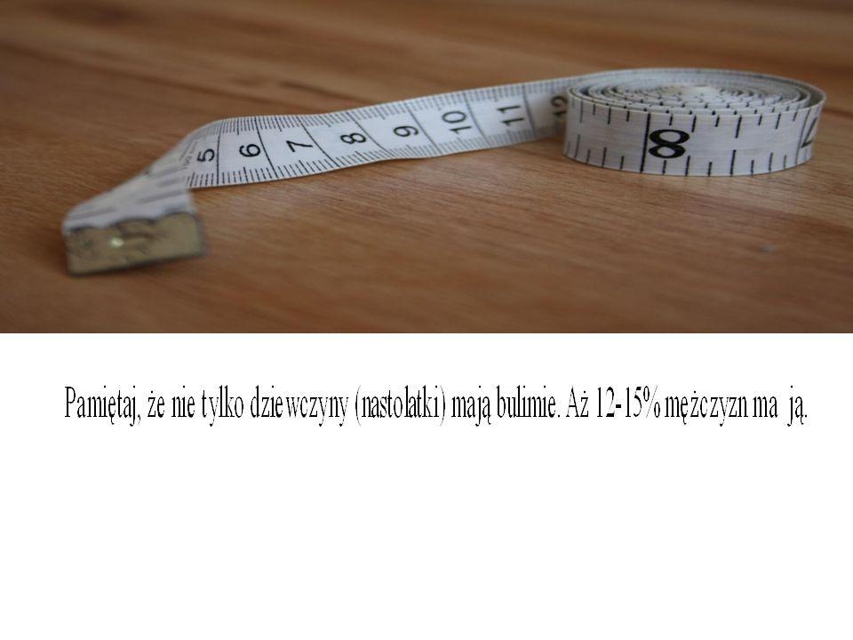 QUIZ Ile procent mężczyzn ma bulimie.