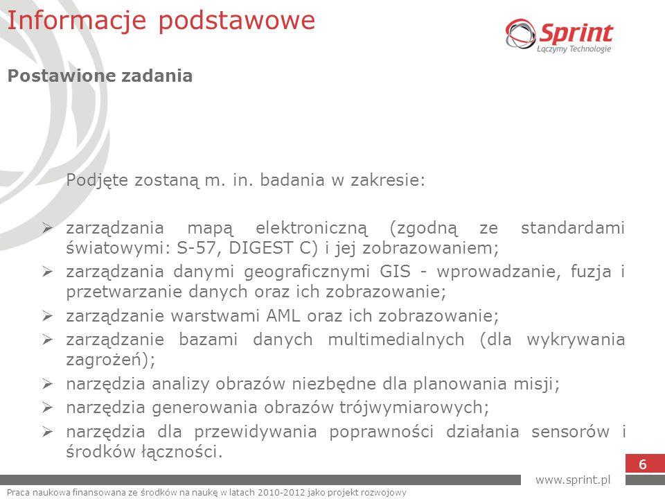 www.sprint.pl 6 Podjęte zostaną m. in.