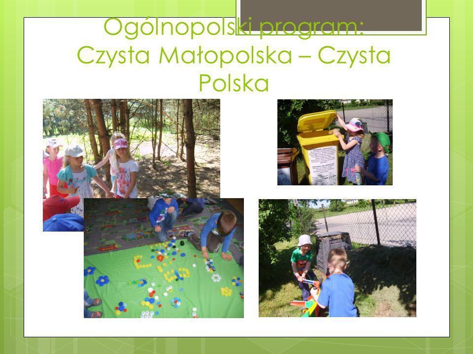 Ogólnopolski program: Czysta Małopolska – Czysta Polska