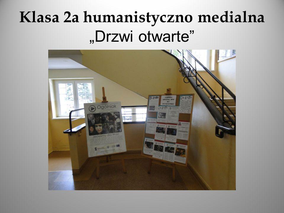 """Oto duma klasy humanistyczno-medialnej – """"Filmoteka Szkolna oraz gazetka """"Ogólniak"""