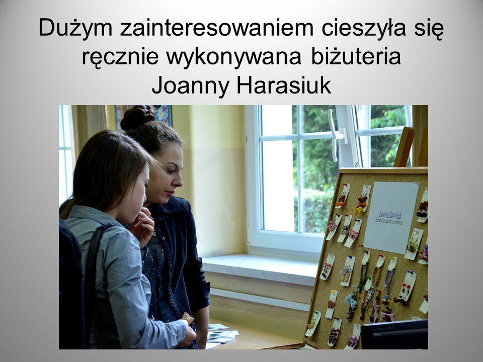 Dużym zainteresowaniem cieszyła się ręcznie wykonywana biżuteria Joanny Harasiuk