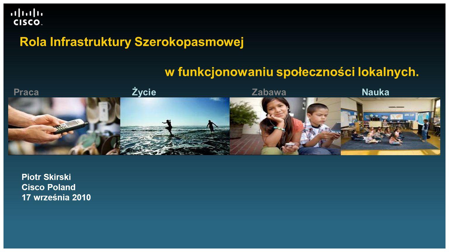 Rola Infrastruktury Szerokopasmowej w funkcjonowaniu społeczności lokalnych.