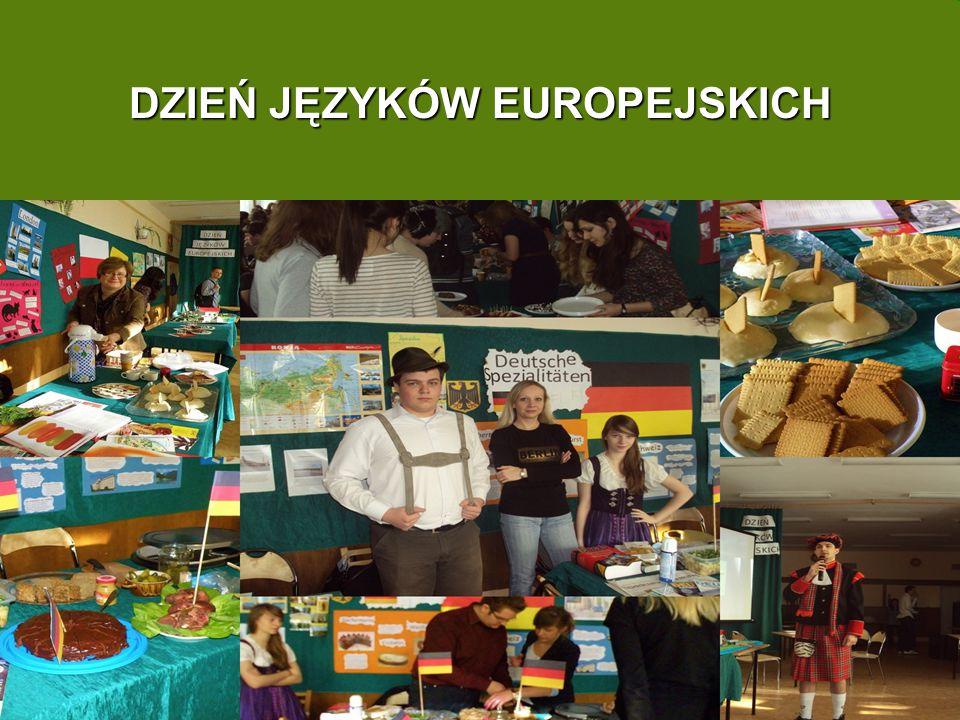 dzień języków europejskich DZIEŃ JĘZYKÓW EUROPEJSKICH