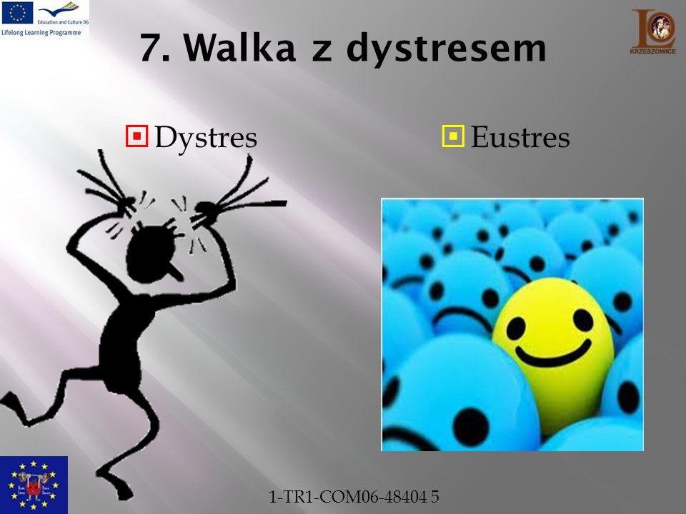 7. Walka z dystresem  Dystres  Eustres 1-TR1-COM06-48404 5
