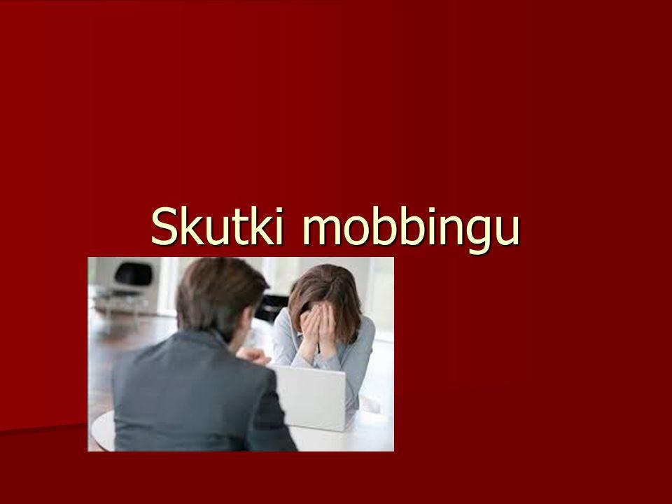 Skutki mobbingu