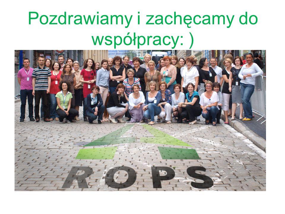 Pozdrawiamy i zachęcamy do współpracy: )