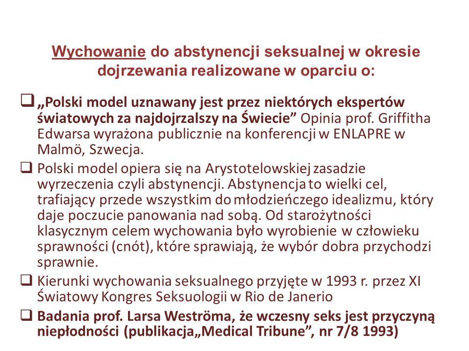 """ """" Polski model uznawany jest przez niektórych ekspertów światowych za najdojrzalszy na Świecie"""" Opinia prof. Griffitha Edwarsa wyrażona publicznie n"""
