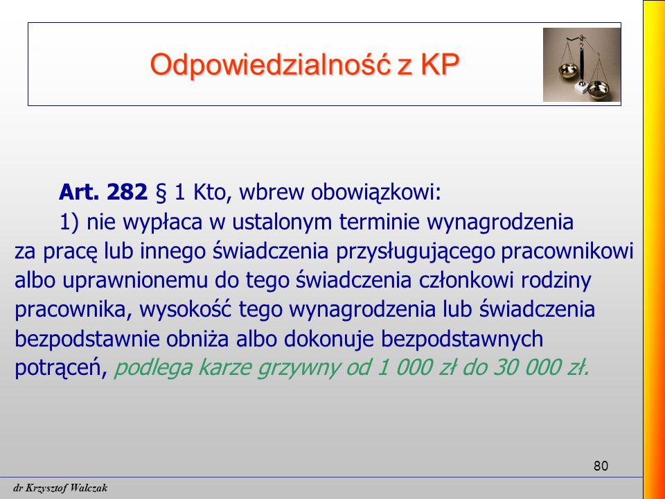 80 Odpowiedzialność z KP Art.