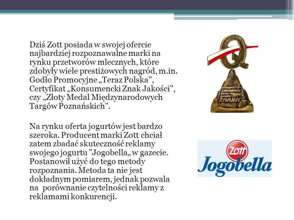 Dziś Zott posiada w swojej ofercie najbardziej rozpoznawalne marki na rynku przetworów mlecznych, które zdobyły wiele prestiżowych nagród, m.in. Godło