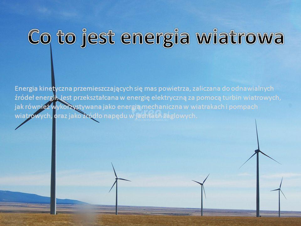 Najstarszym znanym wykorzystaniem energii wiatru są łodzie żaglowe.