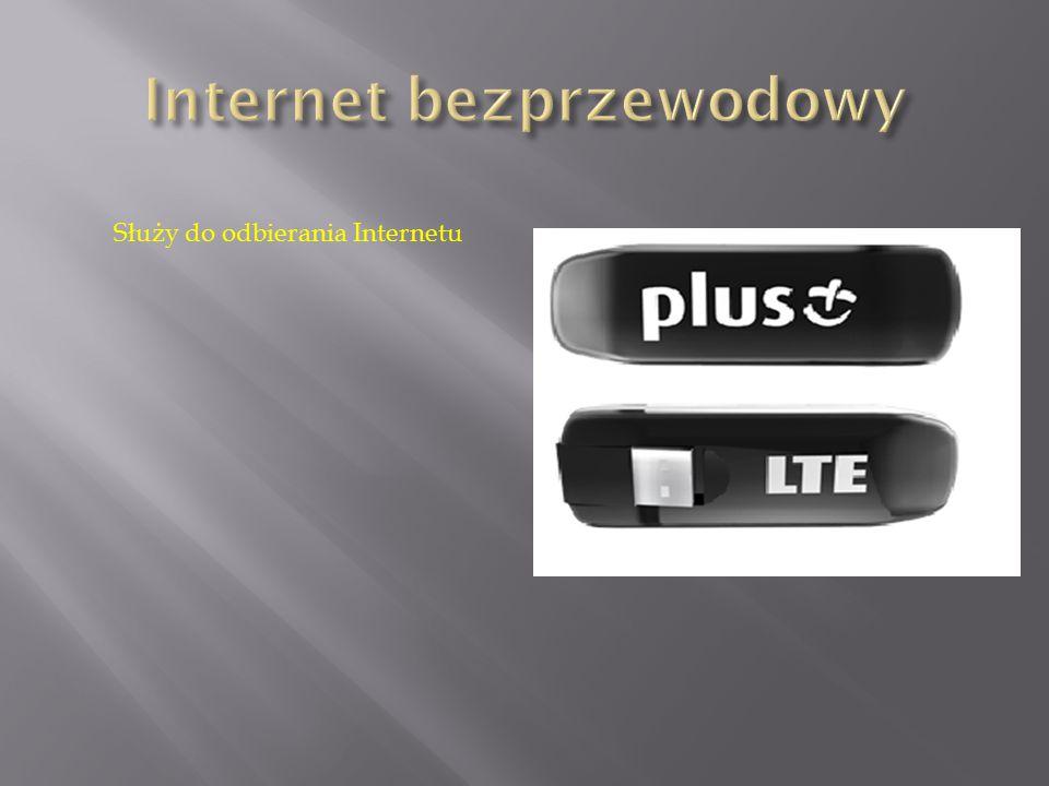 Służy do odbierania Internetu